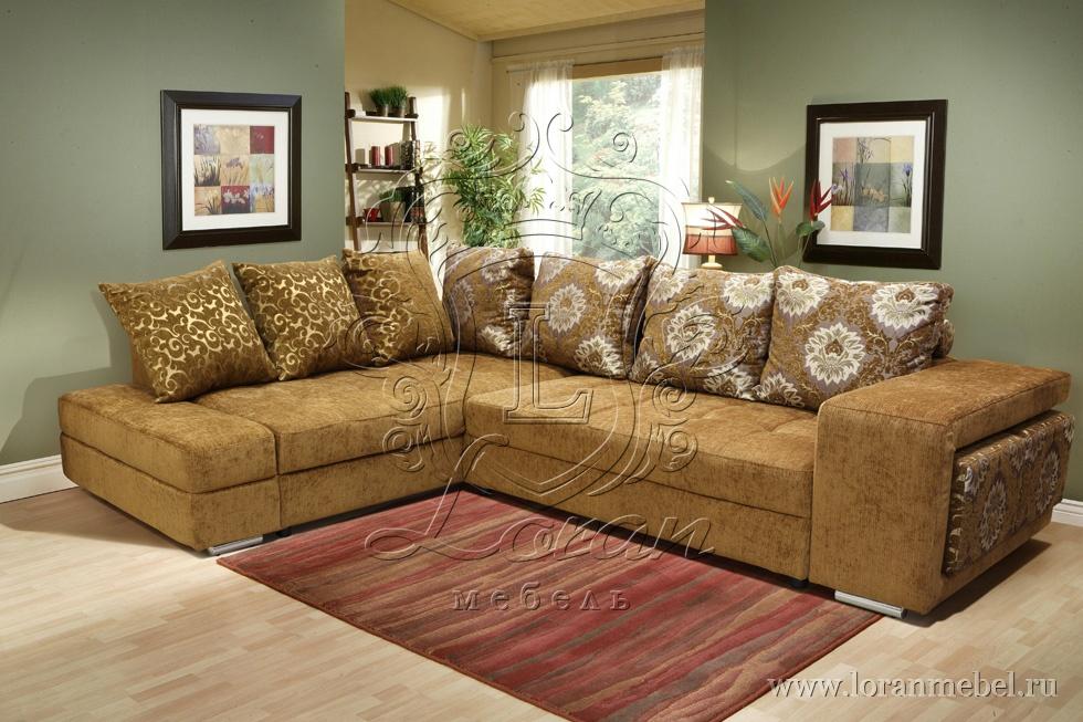 """Угловой диван-кровать """"Принцесса"""", ткань 22 группы."""