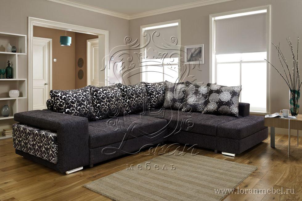 """Угловой диван-кровать """"Принцесса"""", ткань 23 группы."""
