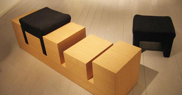 скамья - два стула