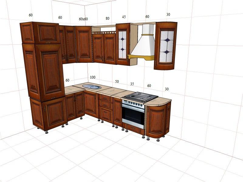 угловые кухни - Стильные кухни