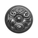 Кнопка Guisti 202830 E8. Серебро