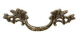Ручка скоба классика, античная бронза 64 мм 15.136.02.12.FIL