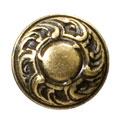 Ручка кнопка классика, античная бронза 15.352.01.12