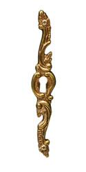 Ключевина декоративная, французское золото 15.699.10.13