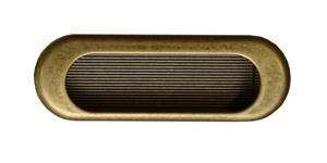 Врезная ручка Guisti WMN 540. 75mm. D1. Золото