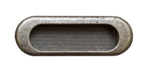 Врезная ручка Guisti WMN 540. 75mm. E8. Серебро