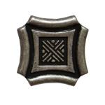 Кнопка Guisti WPO 628. E8. Серебро