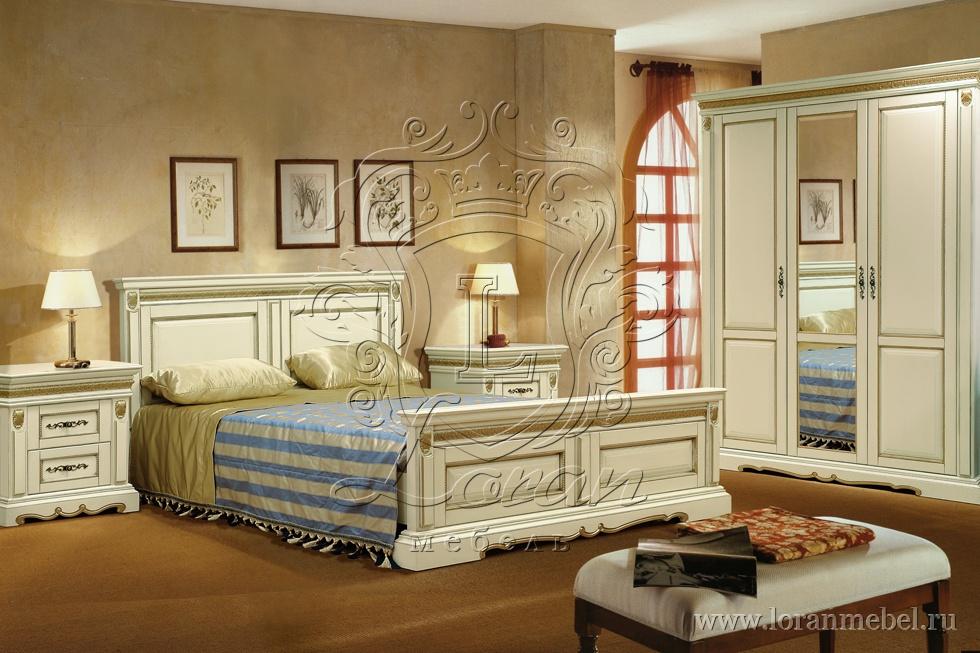 Спальня Милана, крашение - слоновая кость.