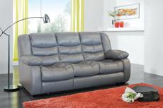 Трёхместный кожаный диван Манчестер