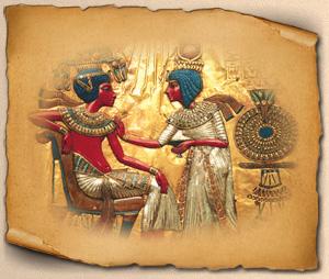 Мебель древнего Египта.