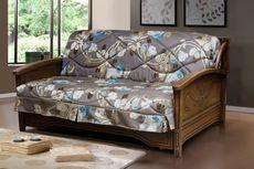 Трехместный диван-кровать из ткани Мюнхен