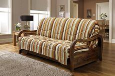 Тканевый трехместный диван-кровать Турин