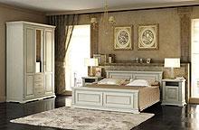 Спальня Верди из беленого дуба.
