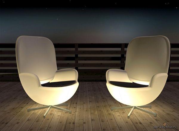 креативные уличные кресла