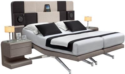 кровать с док системами