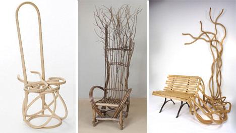 Прорастающая мебель - экстравагантный дизайн