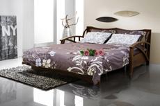 Спальное место дивана Аккордеон.
