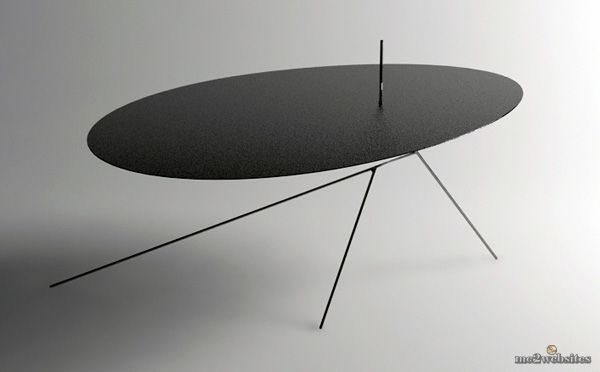 ультратонкий стол
