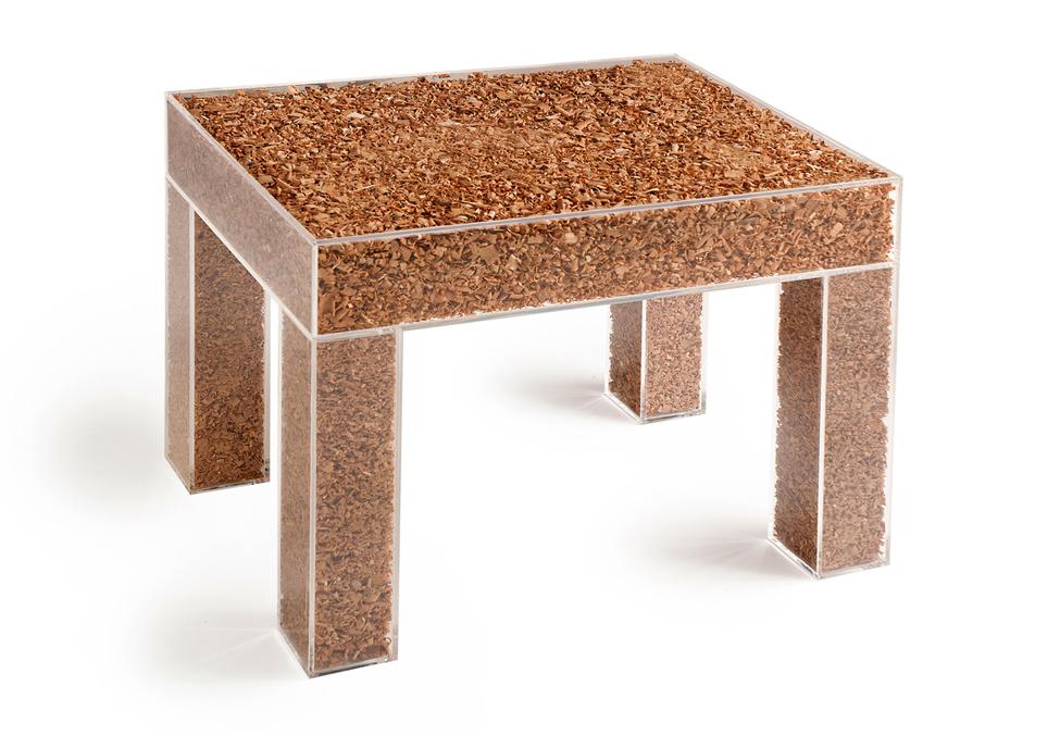 старые опилки = новый стол