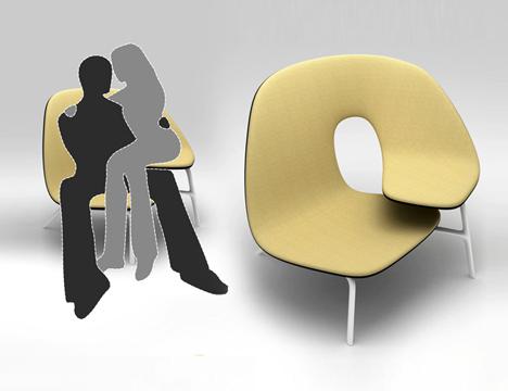 стул для двоих
