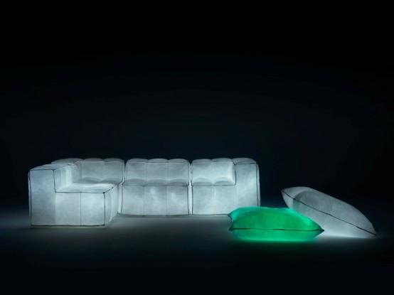 светящаяся мебель звездная пыль