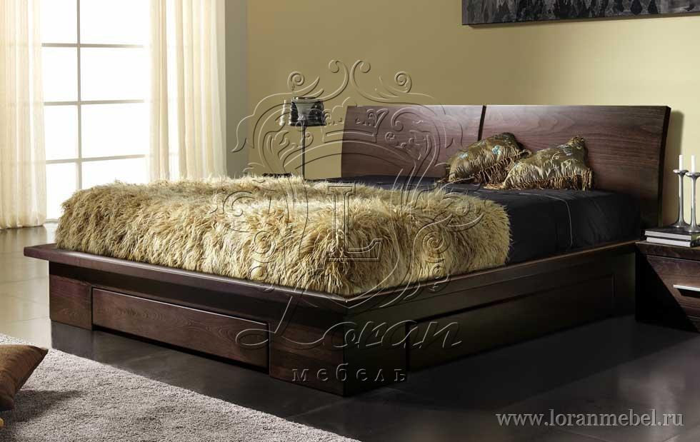 Кровать из бука