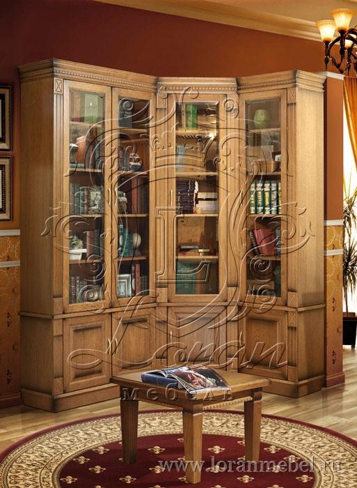 Верди люкс библиотека угловая 2: цена, фото, описание.