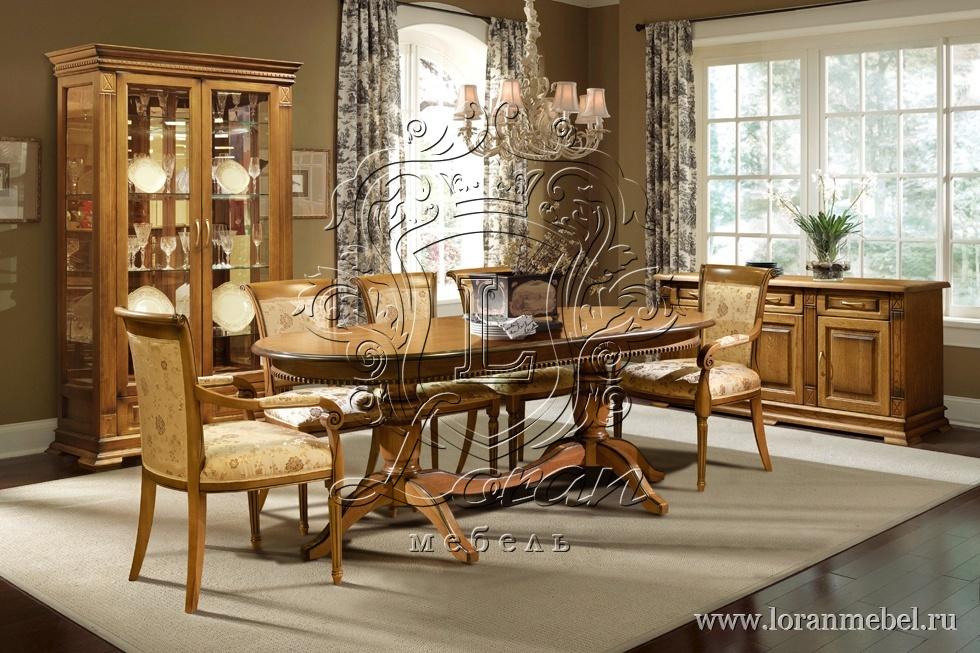 верди люкс стол обеденный 3рс элитная мебель для гостиной