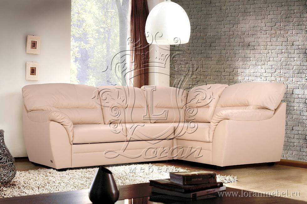 кожаный диван цена