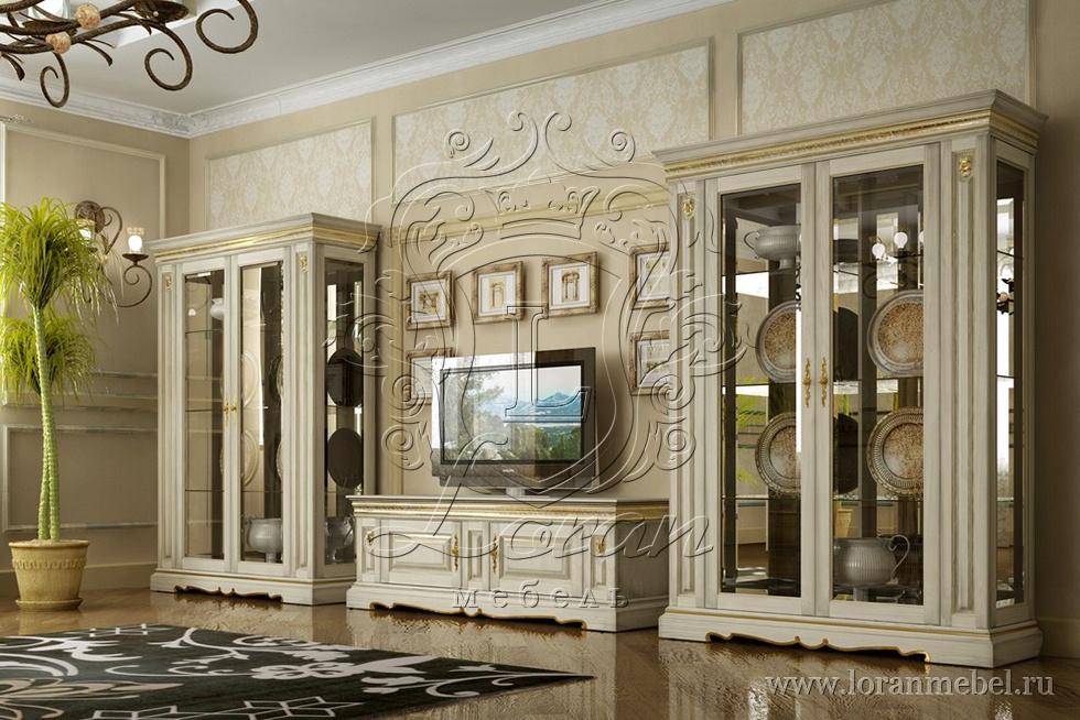 Белорусская мебель гостиные из массива