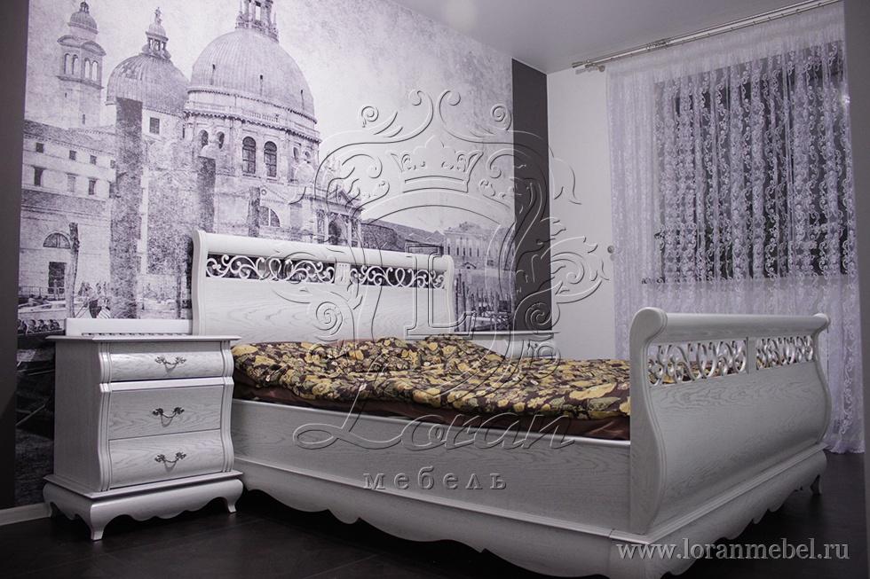 Белорусские спальни из натурального массива
