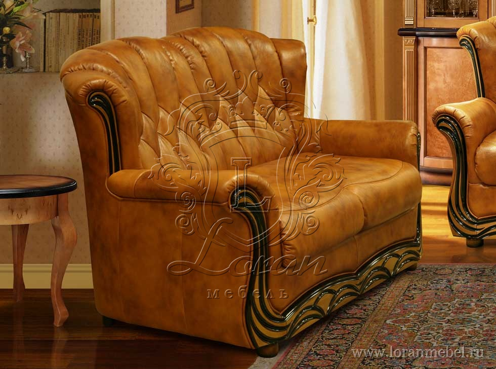Кожаная мягкая мебель - Мебельторг