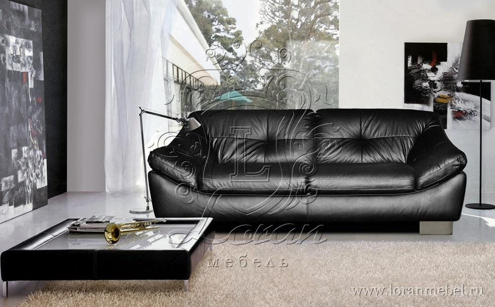 Кожаные диваны в интерьере