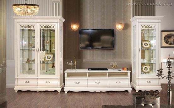 Белая Мебель Для Гостиной Недорого Москва