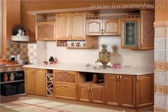 Кухня Дуб 4 тип 01