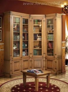 Корпусная мебель из массива дуба  в